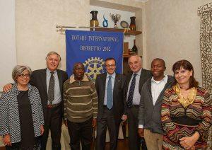 Serata con Fred Mawanda al Rotary Club Merate Brianza
